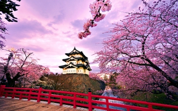 Osaka-Japan-Castle-Wallpaper