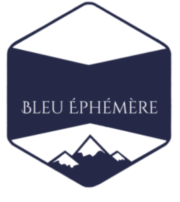 Bleu éphémère